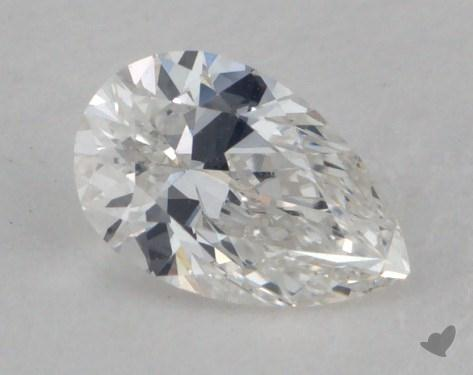 0.31 Carat E-VVS2 Pear Shaped  Diamond