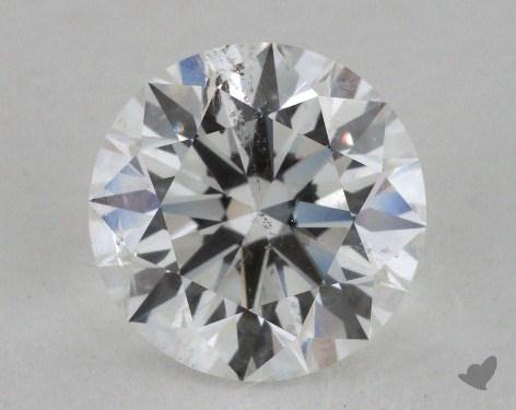 1.81 Carat F-SI2 Excellent Cut Round Diamond