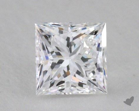 1.01 Carat D-VVS2 Ideal Cut Princess Diamond