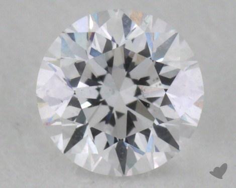 0.31 Carat D-SI2 Good Cut Round Diamond
