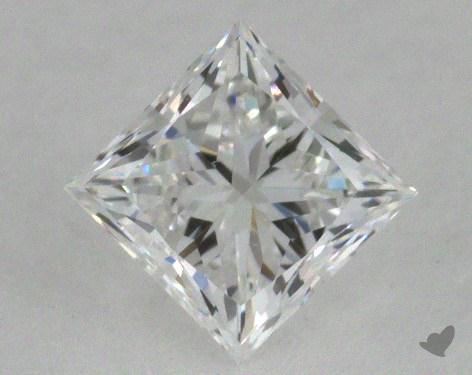 0.56 Carat D-VVS1 Ideal Cut Princess Diamond