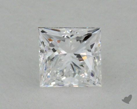 0.52 Carat D-VVS2 Ideal Cut Princess Diamond