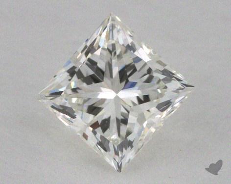 0.61 Carat I-VVS1 Ideal Cut Princess Diamond