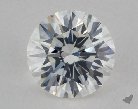 0.85 Carat H-VVS1 Excellent Cut Round Diamond