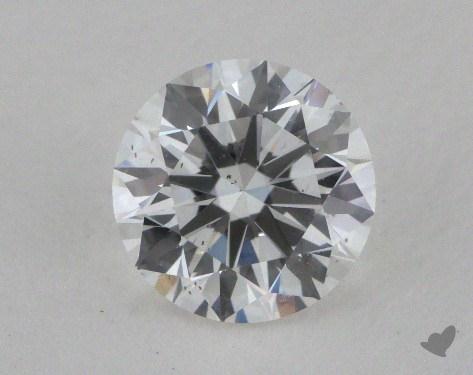 1.01 Carat F-SI1 Excellent Cut Round Diamond