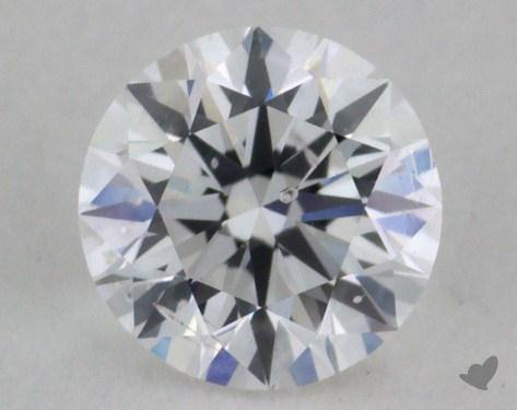 0.41 Carat D-SI2 Excellent Cut Round Diamond