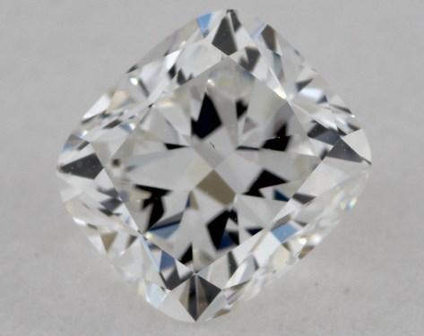 0.80 Carat F-VS1 Cushion Cut Diamond