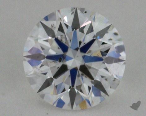0.71 Carat E-SI2 Ideal Cut Round Diamond