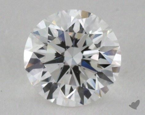 0.90 Carat F-VVS2 Very Good Cut Round Diamond