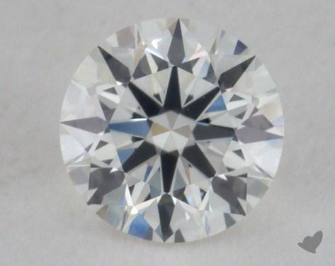 0.51 Carat H-VS1 Excellent Cut Round Diamond