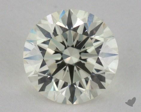 1.01 Carat K-VVS1 Excellent Cut Round Diamond