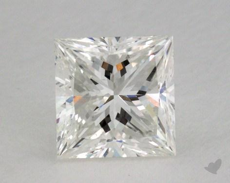 1.70 Carat G-VS2 Ideal Cut Princess Diamond