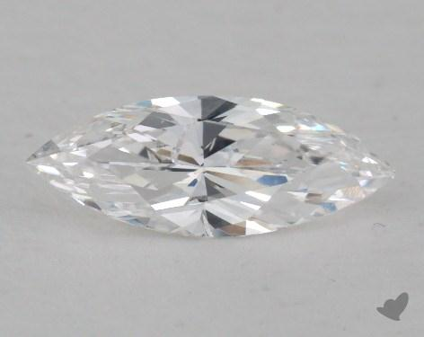 0.81 Carat D-SI1 Marquise Cut Diamond