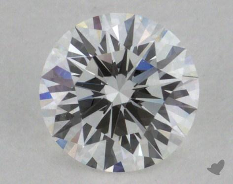 0.41 Carat F-VVS1 Very Good Cut Round Diamond