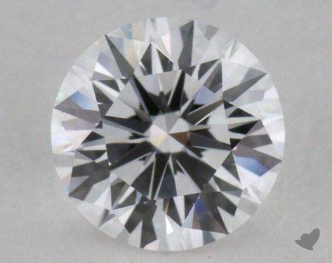 0.66 Carat D-VVS1 Excellent Cut Round Diamond