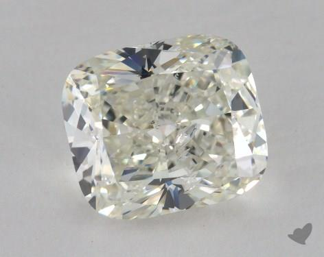 4.03 Carat I-SI2 Cushion Cut Diamond