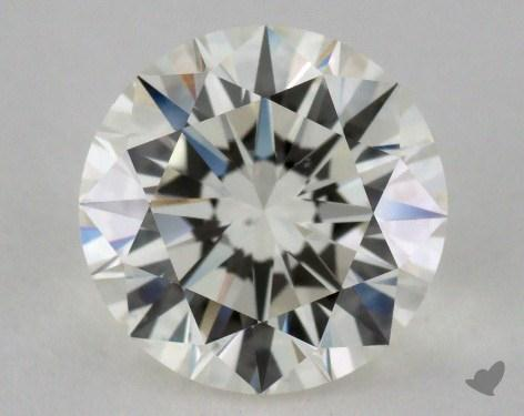 1.53 Carat K-VS2 Very Good Cut Round Diamond