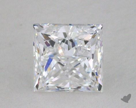 1.01 Carat D-VS1 Ideal Cut Princess Diamond