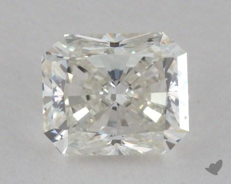0.40 Carat I-VVS2 Radiant Cut Diamond