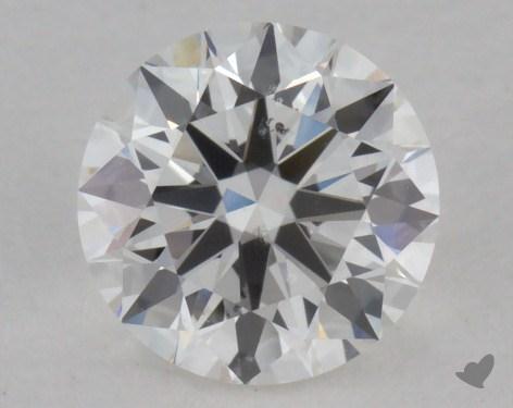 0.90 Carat G-SI1 Excellent Cut Round Diamond