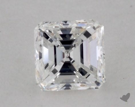 0.47 Carat E-VS1 Asscher Cut  Diamond