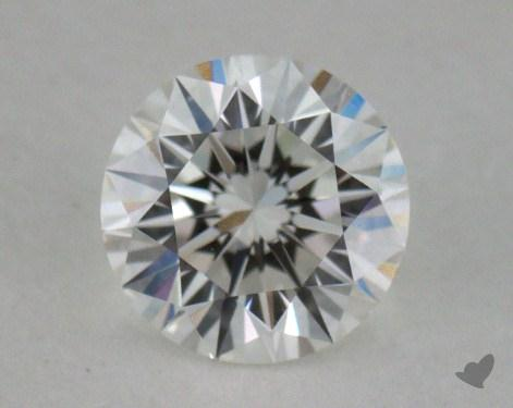 0.54 Carat F-SI2 Excellent Cut Round Diamond