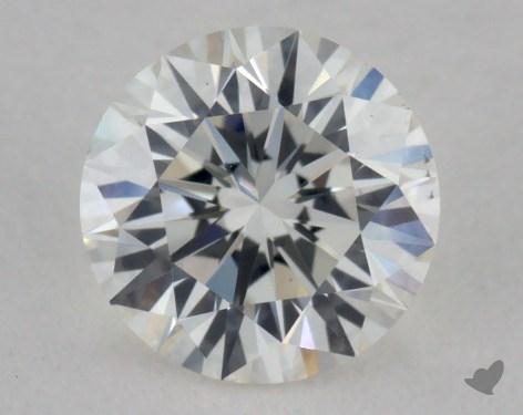 0.53 Carat H-VS1 Excellent Cut Round Diamond