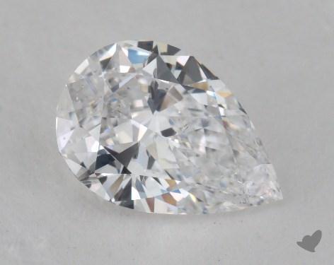 1.16 Carat D-SI2 Pear Shape Diamond