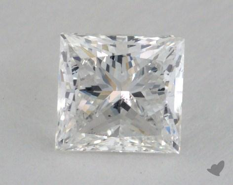 1.61 Carat E-SI2 Princess Cut Diamond