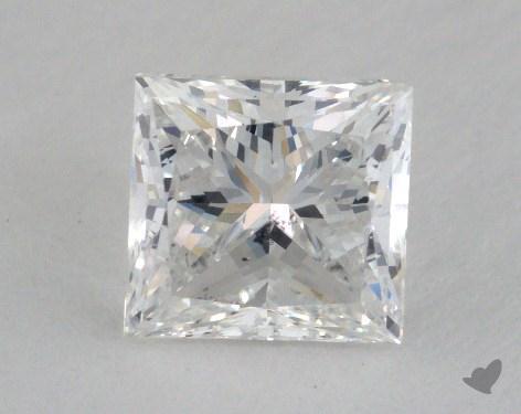 1.61 Carat E-SI2 Very Good Cut Princess Diamond