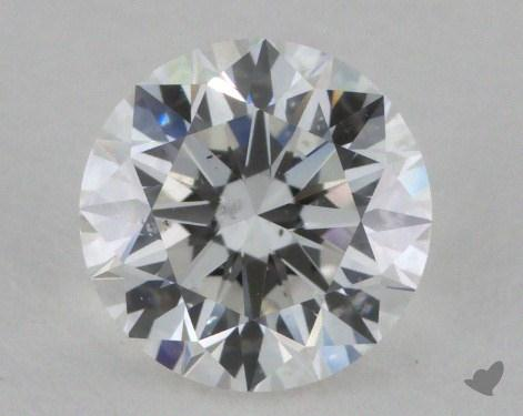 0.91 Carat F-SI2 Very Good Cut Round Diamond