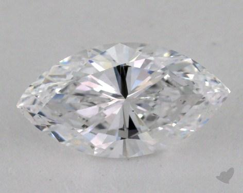 2.11 Carat D-SI1 Marquise Cut Diamond