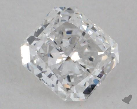0.34 Carat D-SI1 Radiant Cut Diamond