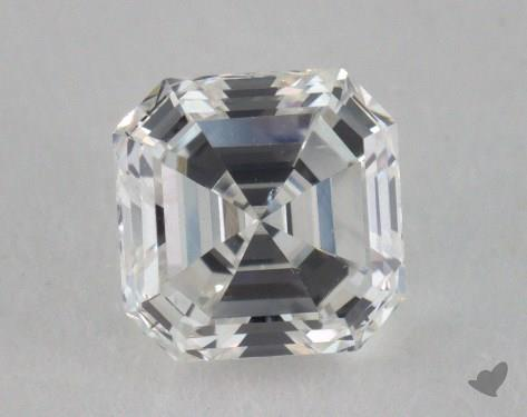 0.60 Carat G-SI1 Asscher Cut  Diamond
