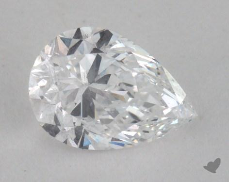 0.71 Carat D-SI1 Pear Shaped  Diamond