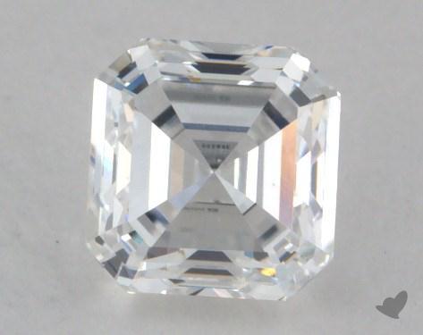 0.71 Carat D-VS1 Square Emerald Cut Diamond