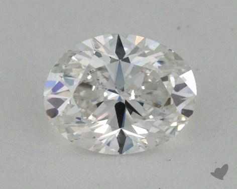 0.70 Carat E-SI1 Oval Cut Diamond