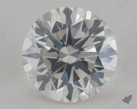 2.06 Carat I-SI2 Very Good Cut Round Diamond
