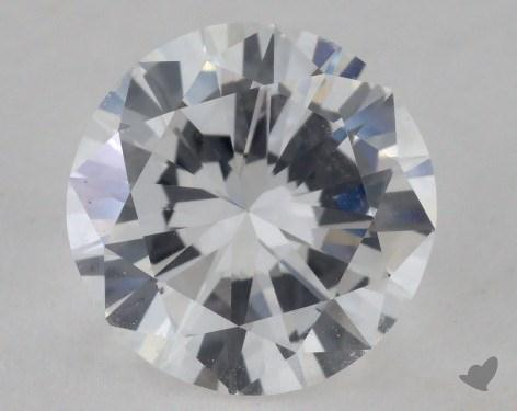 1.31 Carat D-VS1 Fair Cut Round Diamond