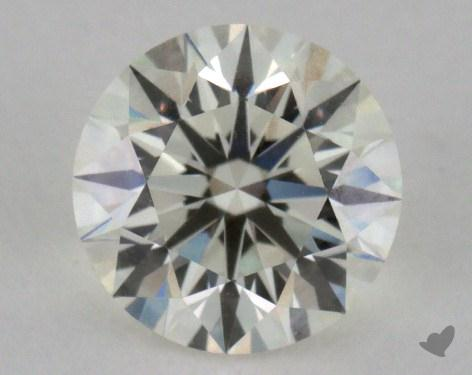 1.01 Carat K-VVS1 Very Good Cut Round Diamond