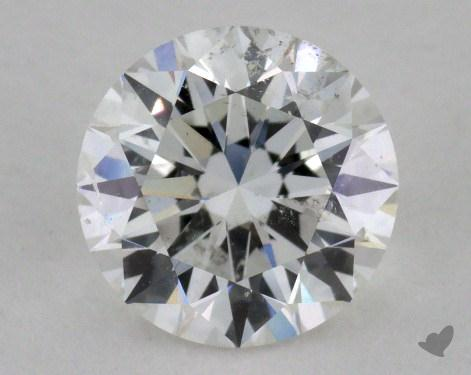 1.21 Carat F-SI2 Excellent Cut Round Diamond