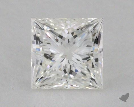 1.07 Carat E-SI1 Ideal Cut Princess Diamond