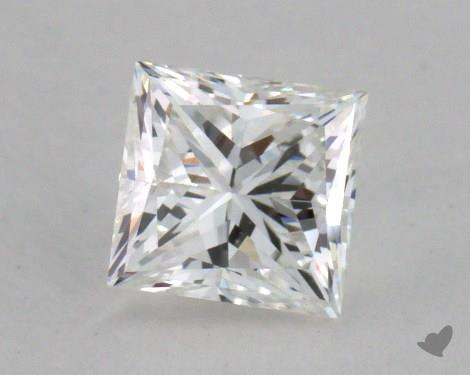 0.47 Carat G-VS2 Very Good Cut Princess Diamond