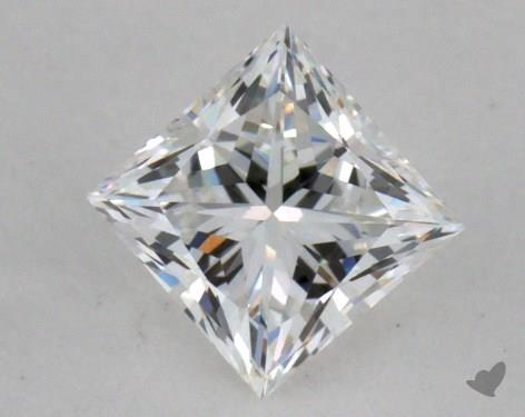 0.47 Carat F-VVS2 Princess Cut Diamond
