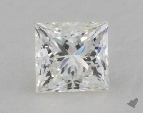0.56 Carat H-VS1 Very Good Cut Princess Diamond