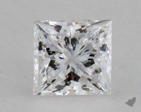 0.54 Carat D-VS2 Very Good Cut Princess Diamond