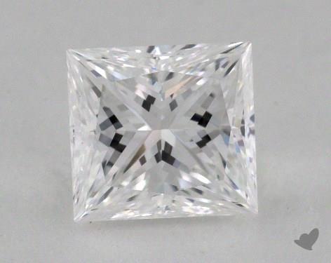 1.08 Carat E-VVS2 Very Good Cut Princess Diamond