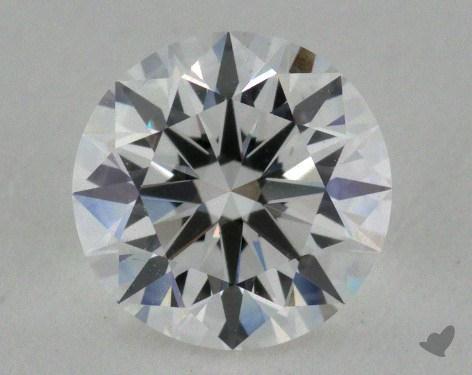 0.91 Carat E-VS1 True Hearts<sup>TM</sup> Ideal Diamond