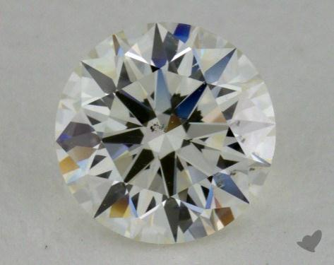 0.81 Carat I-SI1 Ideal Cut Round Diamond 