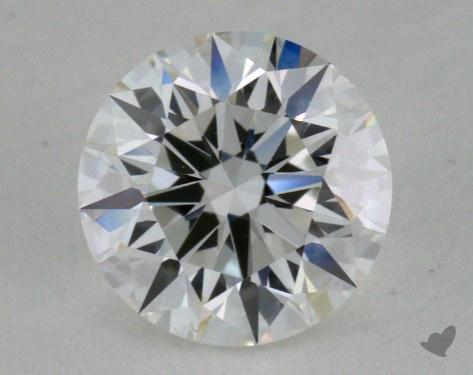 0.81 Carat E-VS2 Excellent Cut Round Diamond